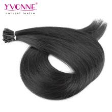 Черный цвет я Наклоняю выдвижения человеческих волос для женщин