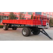 7CX-20 8wheel20ton trailer with CE certificate