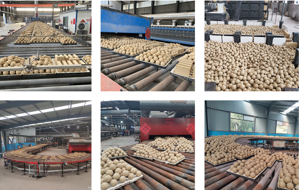 Middle Alumina Balls for Ball Mill