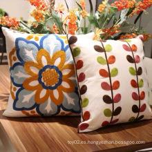 Nuevas almohadas del cojín del sofá del bordado de la decoración del hogar de la moda