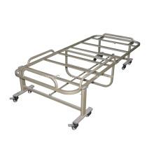 Cadre de lit de massage pliant mobile en acier