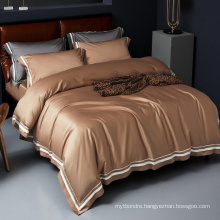 Factory Price Double Bed Soft Bedding Modern Design 1000 Thread Count