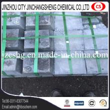 Lingot d'antimoine de bon prix de grande pureté pour l'industrie de batterie