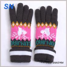 Atacado moda malha senhora inverno luva China fornecedor