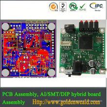 montagem do PWB & montagem do fabricante do PWB do oem Projeto da placa de circuito impresso do Massager (PCBA)