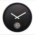 Horloge murale suspendue Black Gear