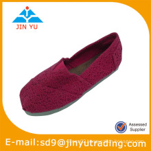 Lady weave upper shoes