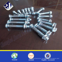 guardrail bolts Zinc plated fishtail bolt Zinc finished Fish-bolt