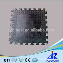 Rubber Floor Tile with Interlocking service