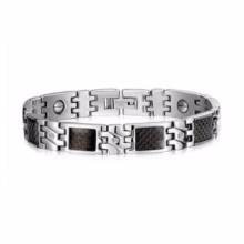 Santé avantages titanium germanium bracelet magnétique sain pour les hommes