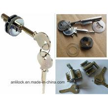 Glass Door Lock, Brass Door Lock, Glass Door Plug-in Cylinder Locks, Door Lock Al-C001