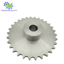 Roda dentada de corrente de rolo de aço inoxidável