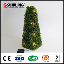 Remote control led string lights topiaries trees for party decoration