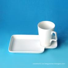 Juego de taza de café de porcelana, estilo # 362
