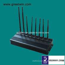 Jammer móvil negro de 433MHz 315MHz (GW-JA8)