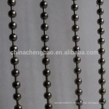 Chine fournisseur en acier inoxydable coloré en acier inoxydable rideau