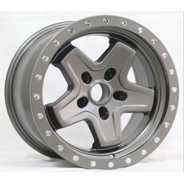 17X9 Fake Bead-Lock Aluminum Wheel Rims