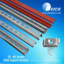Canal de suporte solar - nós somos fabricante