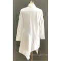 camisa de manga longa casual feminina