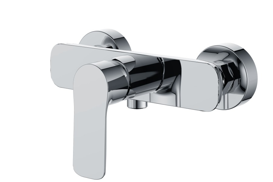 Modern Design chrome plated bath shower mixer set