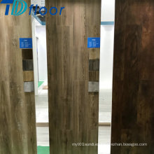 Piso de madera del suelo del vinilo del piso compuesto plástico impermeable de la prenda impermeable