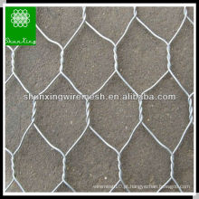 Malha de arame hexagonal