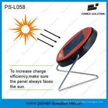 Lampe de bureau solaire qualifiée avec 2 ans de garantie Batterie rechargeable