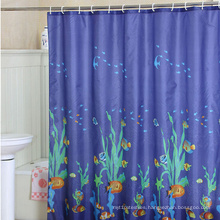 Custom Printed Satin Shower Curtain