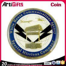 Promotion cheap black enamel coins