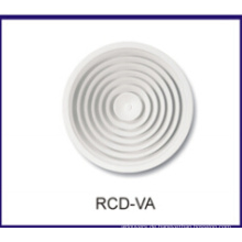 Runde Decke Diffusor, verstellbare Gitter, HVAC-Luftverteiler