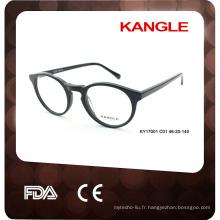 Acétate vente chaude cadre optique eyeweare fabriqué en Chine