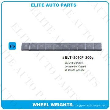 Peso de equilibrio de rueda de 200 g para rueda de coche