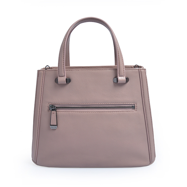 Fashion european style pure color bottom tote bag