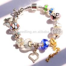 Fashion stainless steel chain jewelry summer fresh bracelets