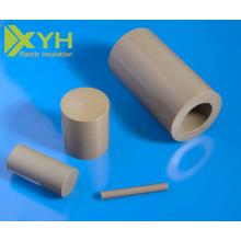 Peek Rod de plástico Productos vírgenes Piezas PEEK