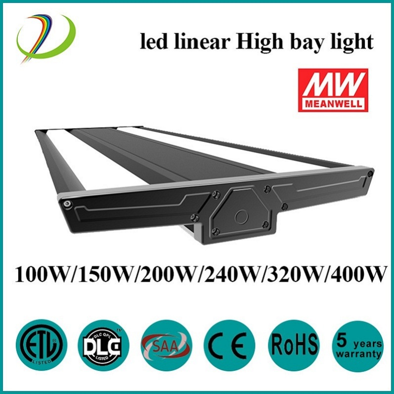 Industriell highbay 200w led linjärt ljus