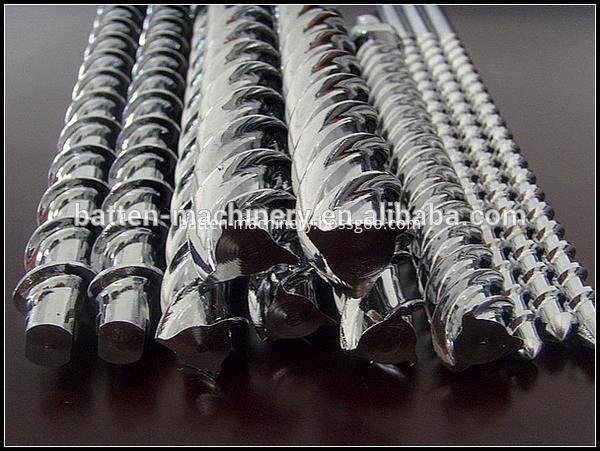 Nitrided 25mm mini single screw barrel for PP PE plastic pipe machines