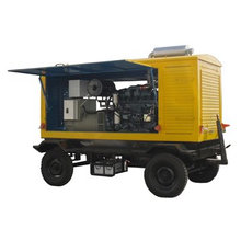 YUCHAI turbine generators for 120KW trailer generator set