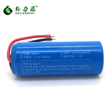 OEM deep cycle kc 500mah 26650 li-ion batteries 3.7v rechargeable battery lithium ion