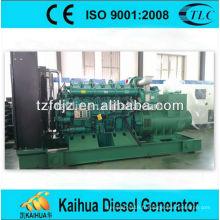 Groupe électrogène diesel électrique de 600kw Yuchai place le moteur chinois