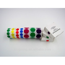 colorful round color dot sticker label sticker provider