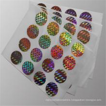Disposible Laser Basilemma Metallization Holographic Film