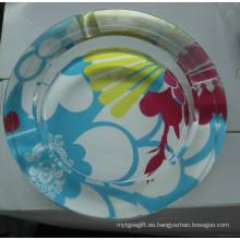 Conjunto de forma de vidrio redondo para fumar