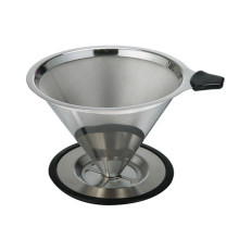Hot Selling Amazon Paperless Washable & Reusable Pour Over Coffee Filter