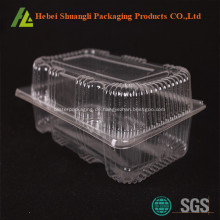 Durchsichtiger Kuchenbehälter aus Kunststoff mit Klappdeckel