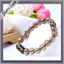 Various Sizes Clear Transparent Smoky Crystal Bracelet