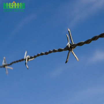 Galvanized+Factory+Steel+Barbed+Wire+Price+Per+Roll