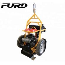 Nouvelle machine de coupe d'essence arrivée Scie circulaire de rail d'essence Machine FQY-400