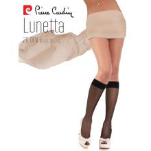 Пьер Карден женщин OEM 15 Денье элегантным рисунком колено высокие носки