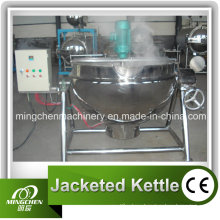 Steam Heating Jacketed Kettle with Agitator